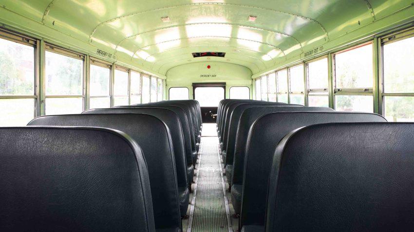 School bus generic interior