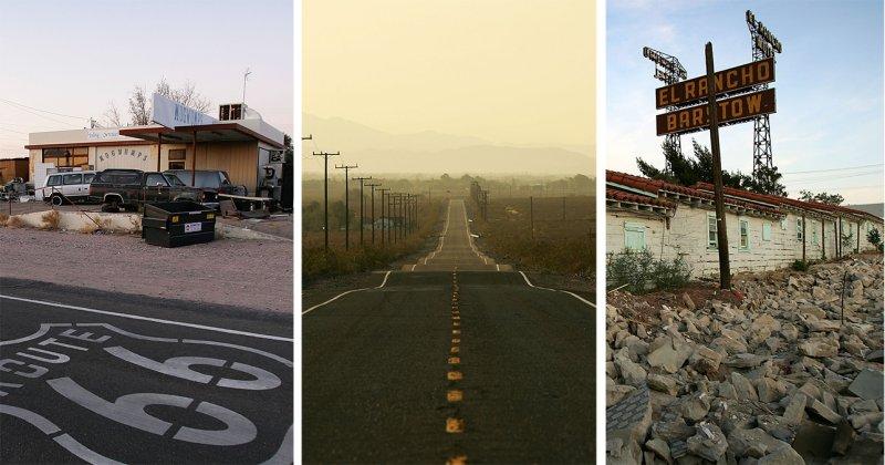 Fotos: recorrido a lo largo de la histórica Ruta 66