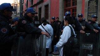 Balacera en Ciudad de México