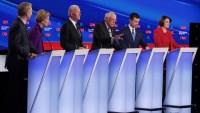 New Hampshire: los precandidatos demócratas en números