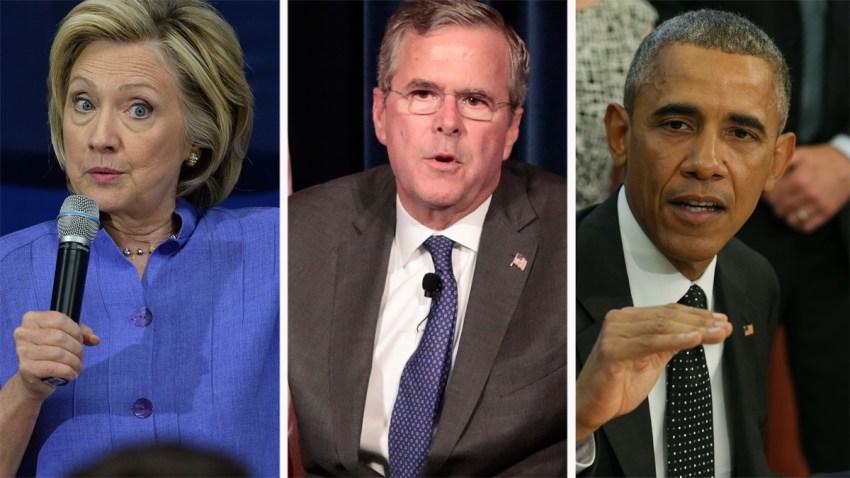 Clinton-Bush-Obama