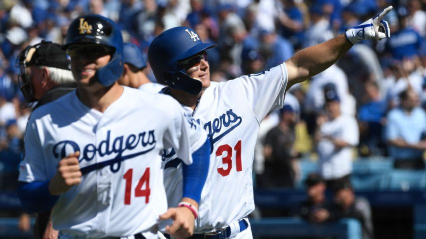 Dodgers MLB Record 8 Homers on Opening Day
