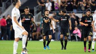 LAFC vs. LA Galaxy Playoffs