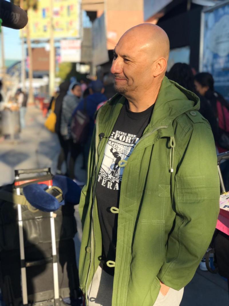 Veterano que habría sido deportado votará por primera vez