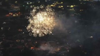File image of illegal fireworks in the South Bay.