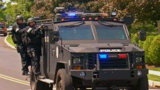Montgomery twp swat truck