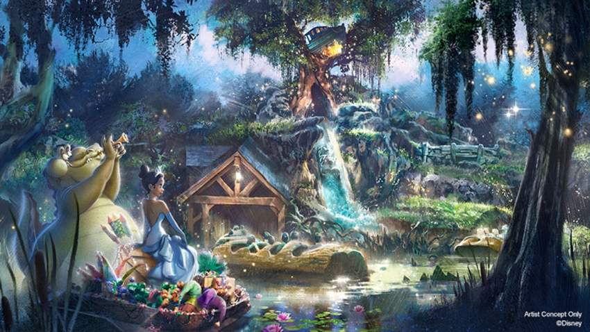 "Disney presenta nuevo diseño de ""Splash Mountain"" en Magic Kingdom"