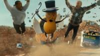 """Viral: sacrificada """"muerte"""" de Mr. Peanut a los 104 años, en ruta al Super Bowl"""