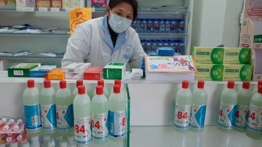 Prevención de contagio de coronavirus en China