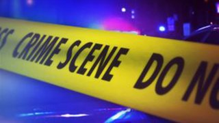 crime scene stabbing foto