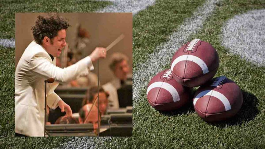 dudamel super bowl los angeles telemundo 52