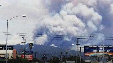 incendio maleza azusa duarte california knbc telemundo 52 los angeles