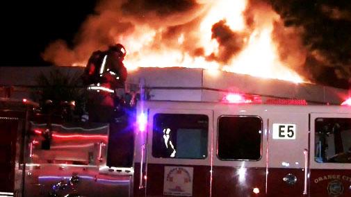 incendio tienda vestidos novia condado orange telemundo 52