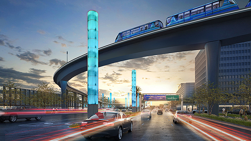 Imágenes: Así es como se verá el Transporte Automatizado de Personas de LAX
