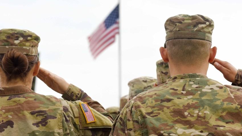 Fotografía genérica de dos soldados estadounidenses.