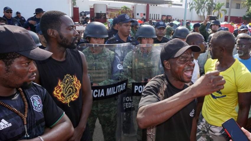 mexico-chiapas-protestas-migrantes-africanos