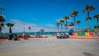Tijuana vacía por distanciamiento social
