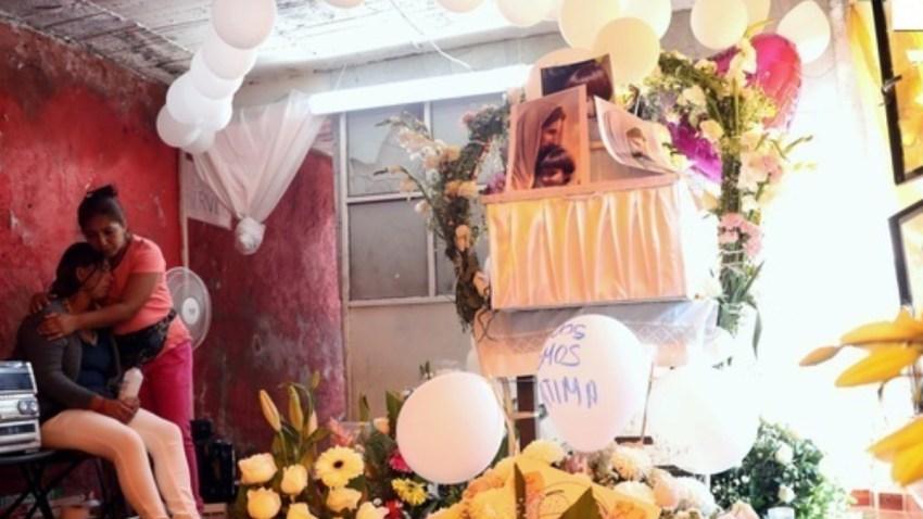 Funeral de la niña Fátima