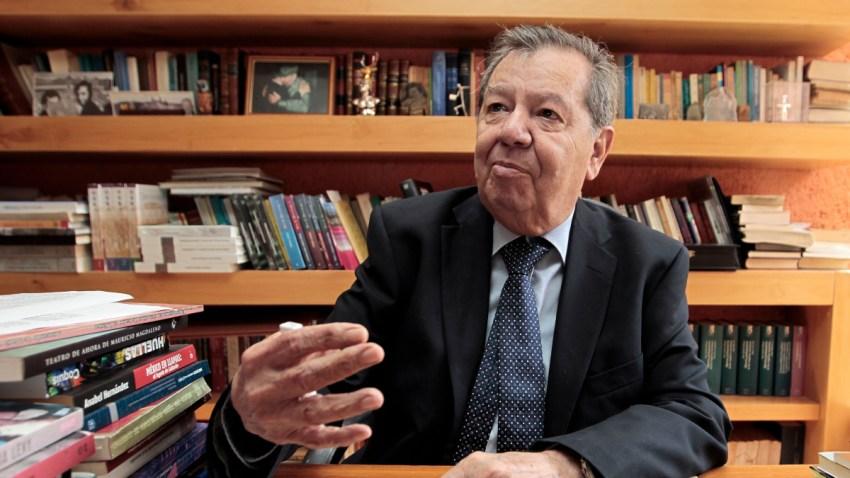 Porfirio Muñoz Ledo, legislador de Morena.
