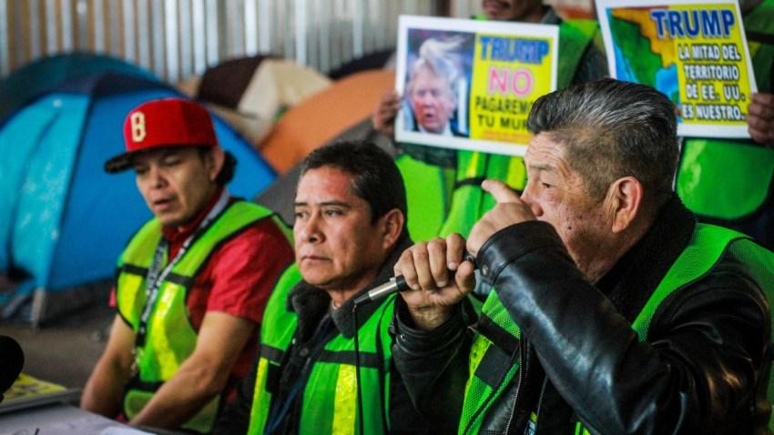 Defensores de migrantes en Tijuana