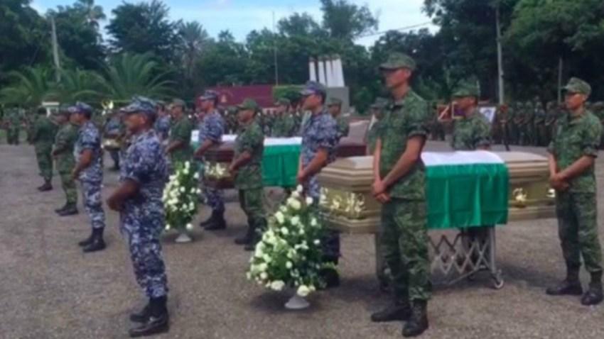 militares-muertos-honores-mexico
