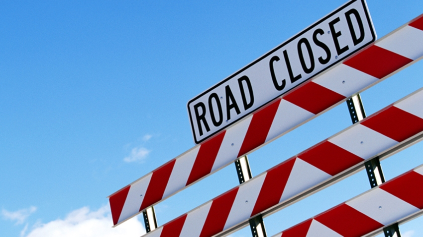 Generic Road Closed