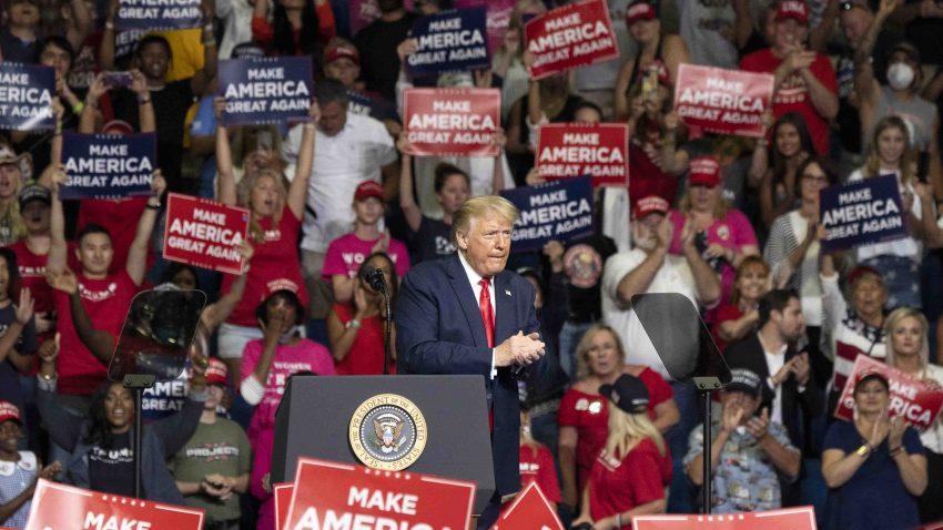 Trump en Tulsa