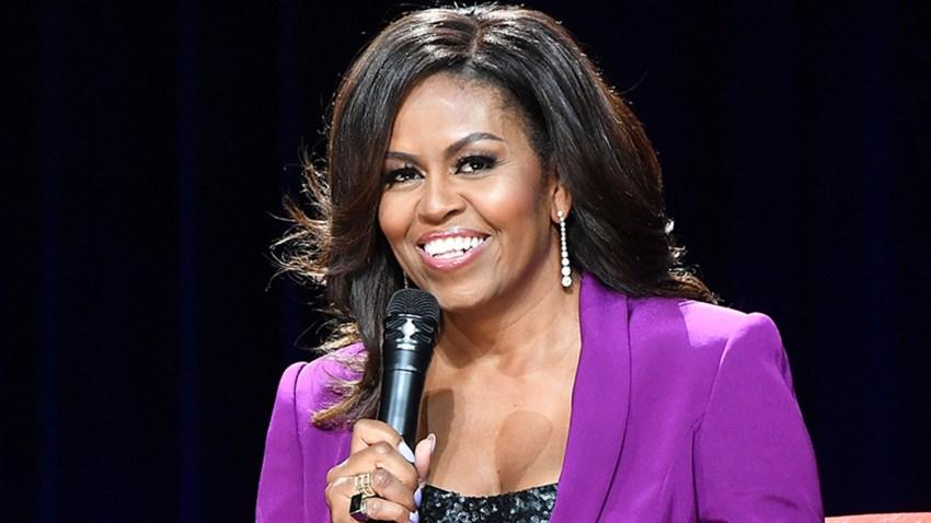 En la foto, la exprimera dama Michelle Obama.