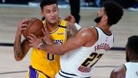 Kyle Kuzma salva a Lakers con un triple y cortan su racha perdedora