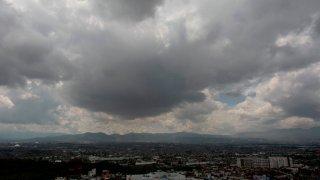 Día nublado en Michoacán