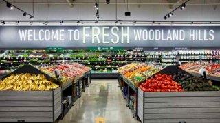 Tienda de comestibles Amazon