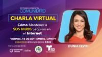 Charla Virtual: Cómo Mantener a Sus Hijos Seguros en el Internet