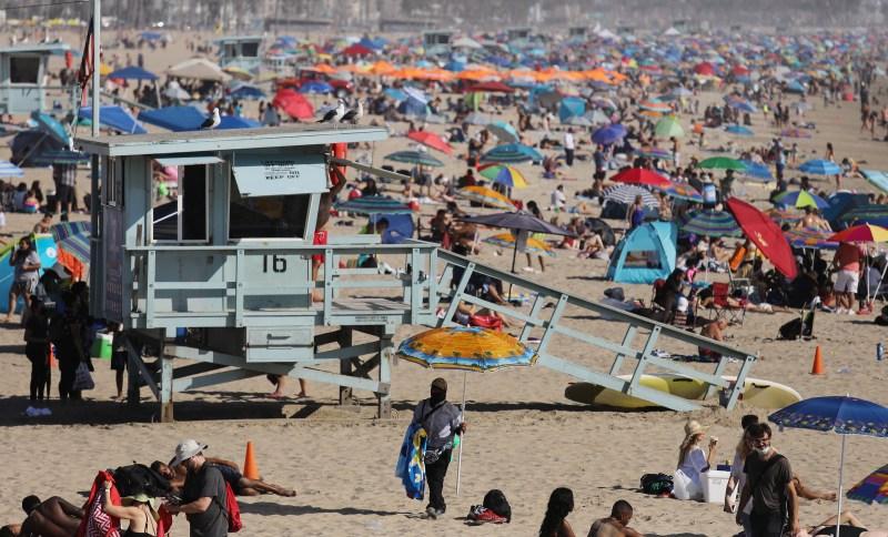 Fotos: Escenas de la ola de calor que azotó al sur de California en septiembre