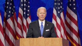En la imagen, Joe Biden, el candidato del Partido Demócrata a la Presidencia de EE.UU. de 2020.