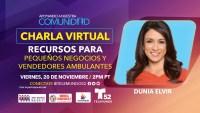 Charla Virtual: Recursos para Pequeños Negocios y Vendedores Ambulantes