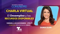 Charla Virtual: El Desempleo y los Recursos Disponibles