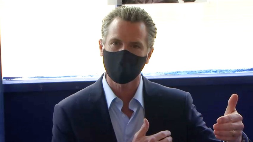 California Gov. Gavin Newsom.