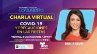 Charla Virtual: COVID-19 y Precauciones en las Fiestas