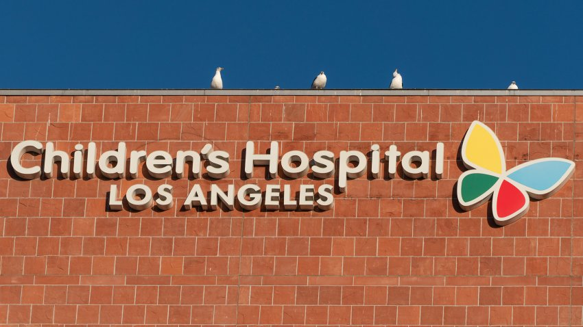 General view of Children's Hospital Los Angeles