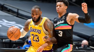 Los Angeles Lakers v San Antonio Spurs