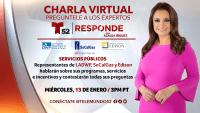 Responde Charla Virtual: Servicios Públicos