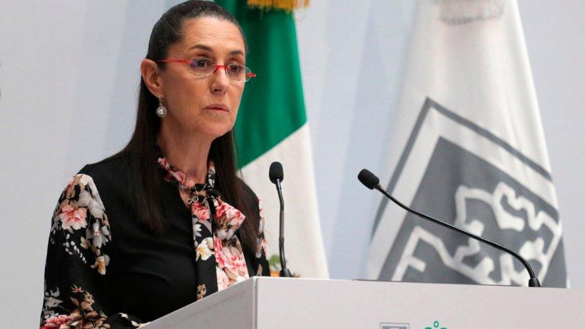 La jefa de Gobierno de la Ciudad de México