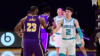 Charlotte Hornets v Los Angeles Lakers