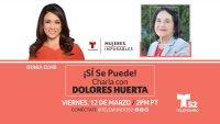 ¡Sí Se Puede! Charla Virtual con Dolores Huerta