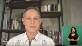 Hugo López-Gatell reaparece positivo a COVID-19