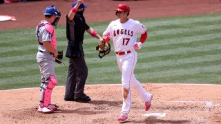 Los Angeles Dodgers v Los Angeles Angels