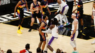 Los Angeles Lakers v Phoenix Suns - Game One