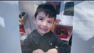 Aiden Leos is pictured in this undated photo provided by his family.