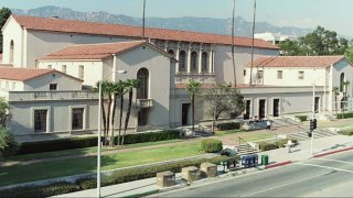 A view of the Central Library in Pasadena.