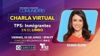 Charla Virtual – TPS: Inmigrantes en el limbo